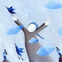 Andrea Petrlik Huseinović «The blue sky»