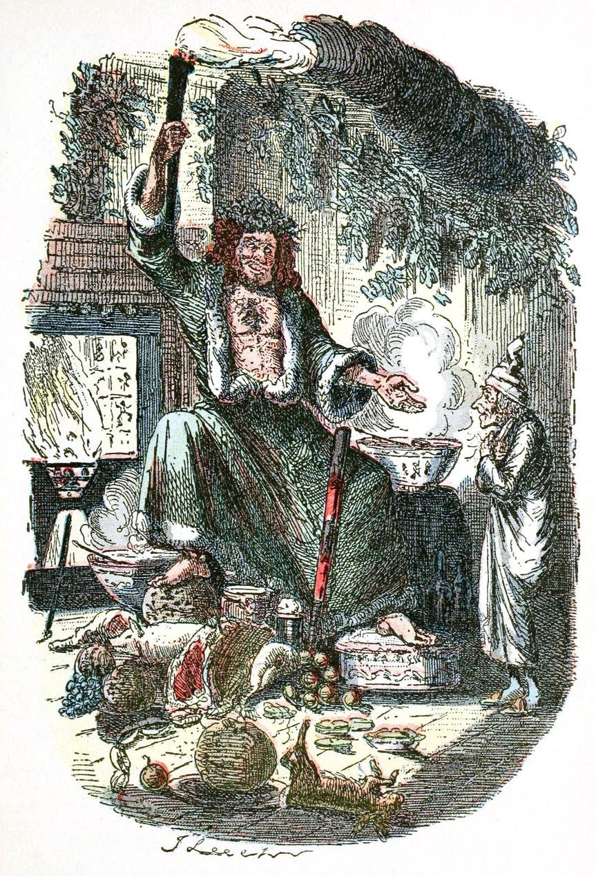 "John Leech ""A Christmas carol in prose """