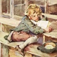 Arthur Ignatius Keller «A Christmas carol»