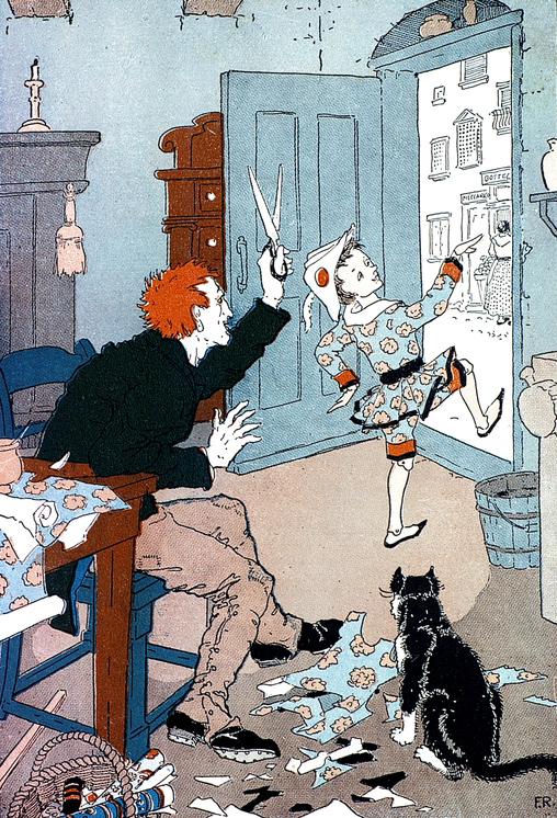"Frederick Richardson ""The adventures of Pinocchio"""