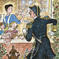 Mary Shepard «Мэри Поппинс на кухне»