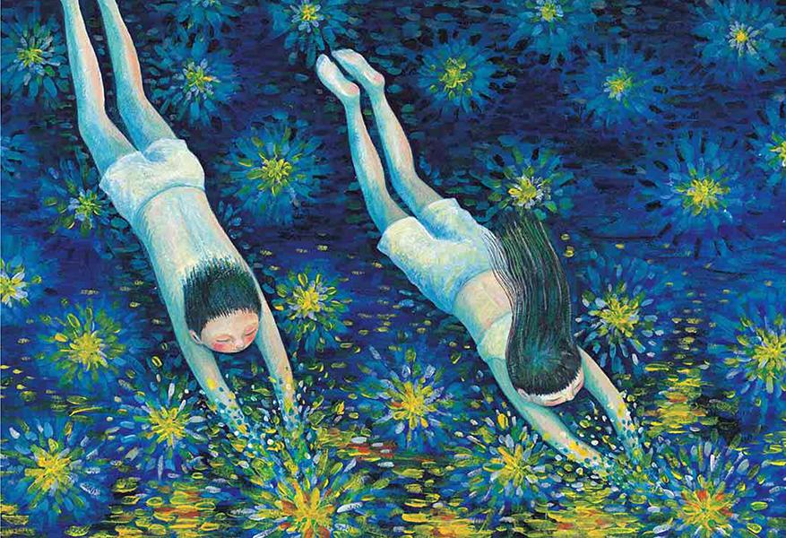 "Jimmy Liao ""Звёздная, звёздная ночь"""