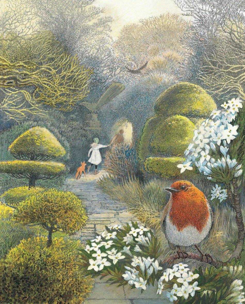 "Inga Moore ""Таинственный сад"""