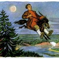 """Владимир Милашевский """"Конек-горбунок"""""""